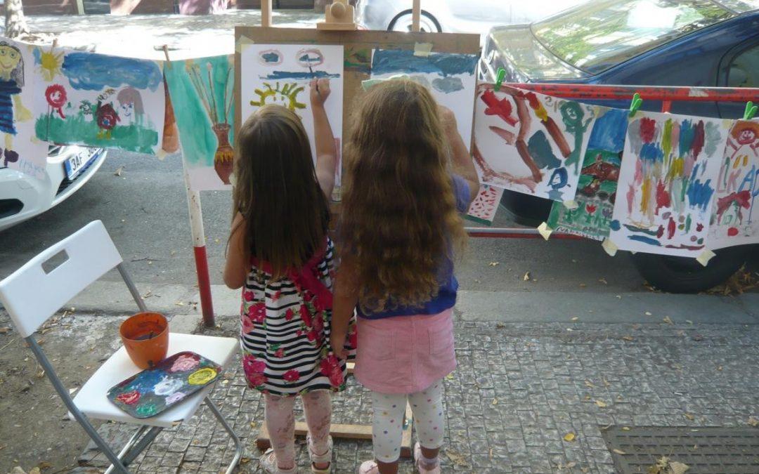 Programme for children, art fabrika