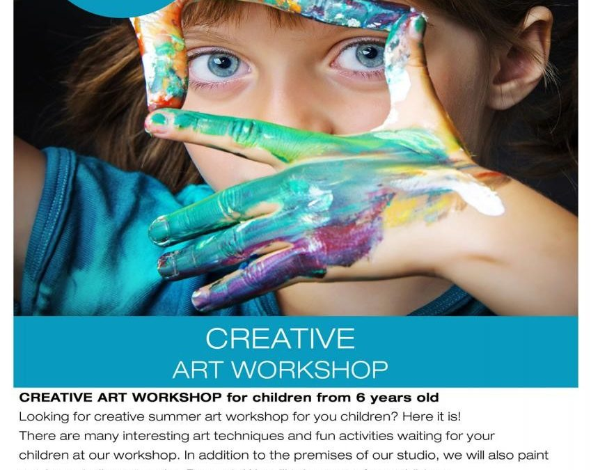 CREATIVE ART WORKSHOP for children from 6 years old